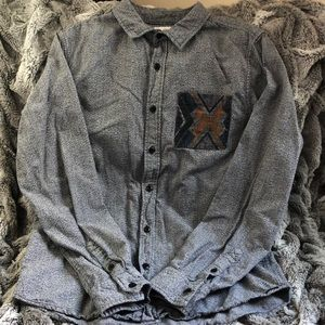 LS button down shirt